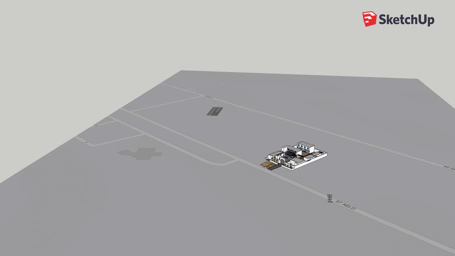 UAE 3D house Model