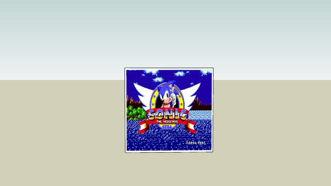sonic the heghog    &  sonic  and tails   game  play screen