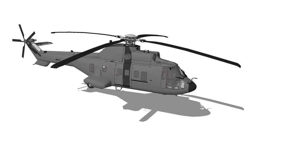 "Eurocopter AS332 ""Super Puma"""