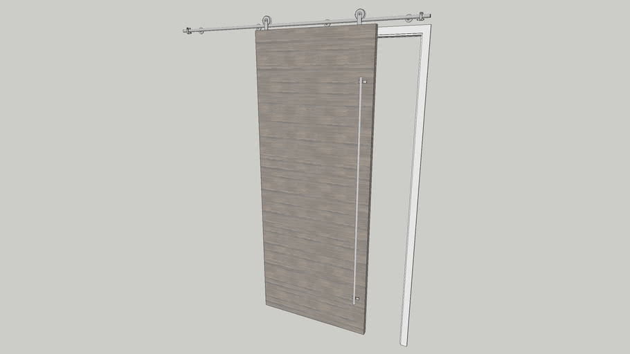 Sliding Barn Door 3d Warehouse