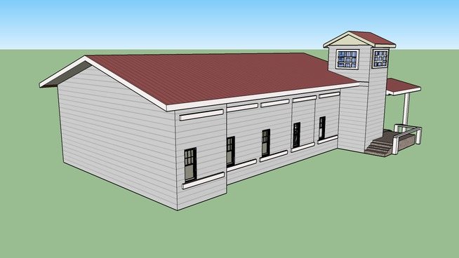 Historic Structure, Alachua County, Florida - Damascus Baptist Church