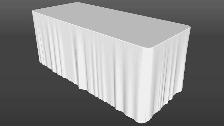 Mantel Para Mesa Rectangular - 6 Pies (Tablecloth)