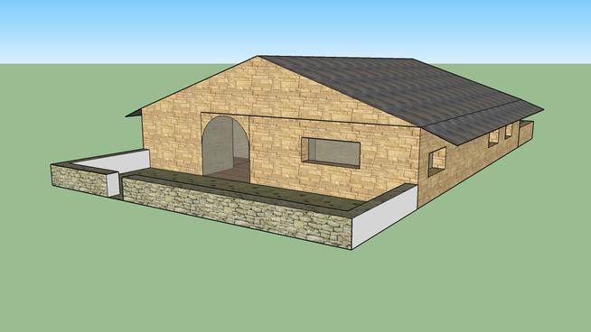 casa rustica individual
