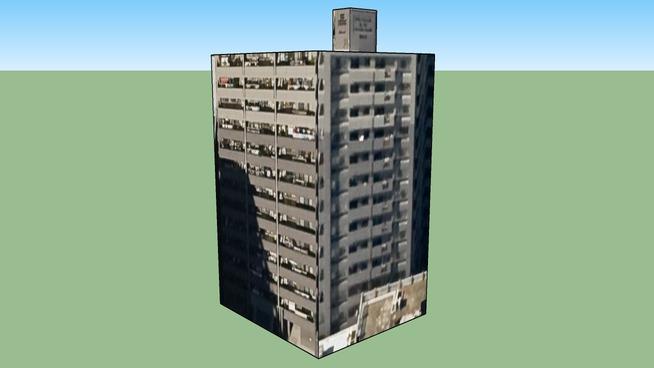 Building in 1丁目-7 光町, Higashi Ward, Hiroshima City, Hiroshima Prefecture, Japan