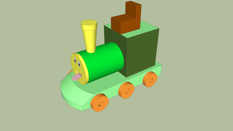 Assembly of a Toy Train
