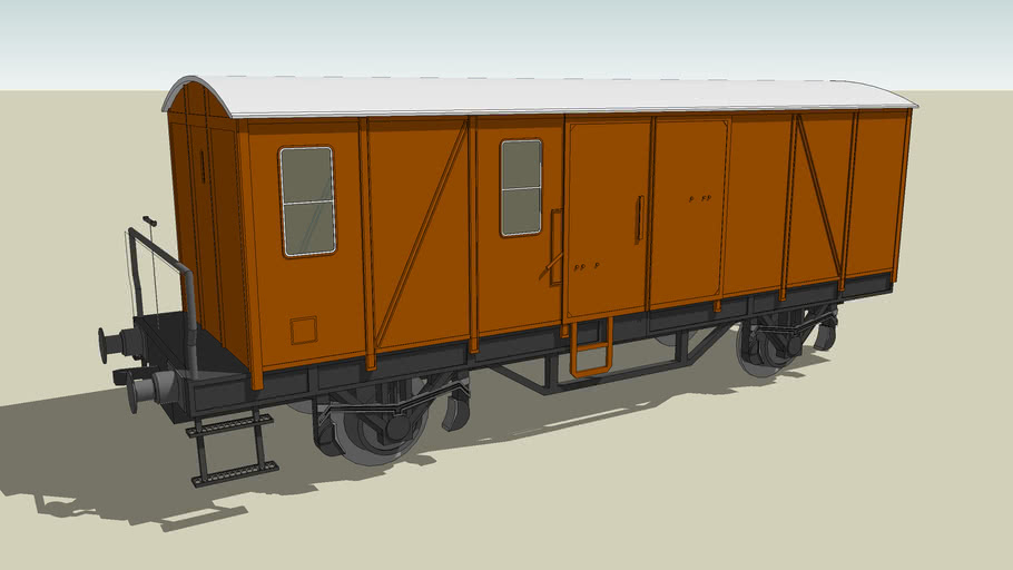 kleiner Güterwagon