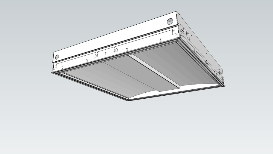 AXIS Day 2x2 Recessed