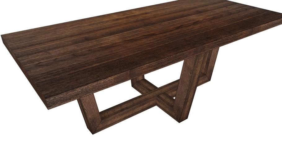 83548 Table Black Magic 220x100cm