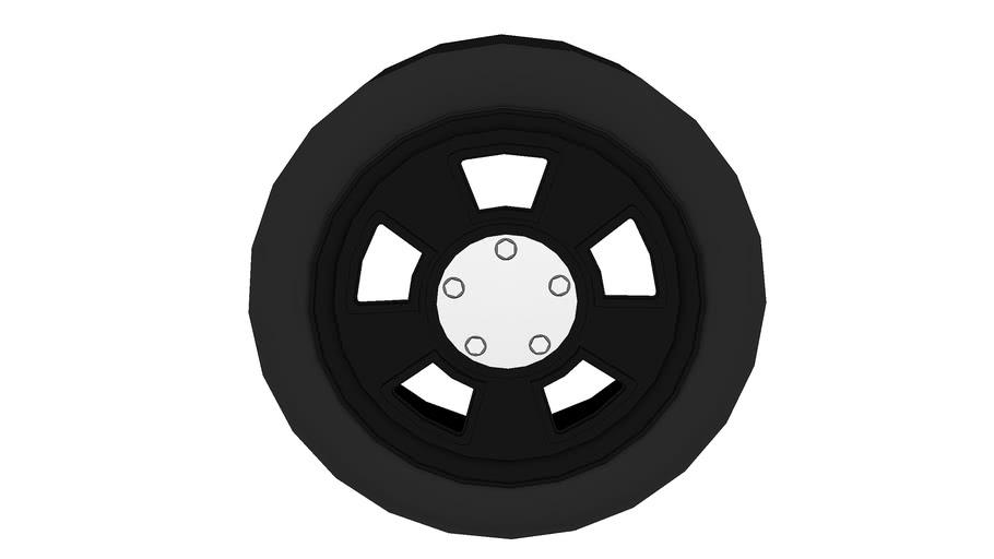 Ford Interceptor wheel