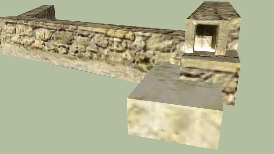 Murs - Place du Tilleul