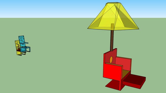 SAINTE ELISABETH chaise parasol BAHOUS MAGNANI
