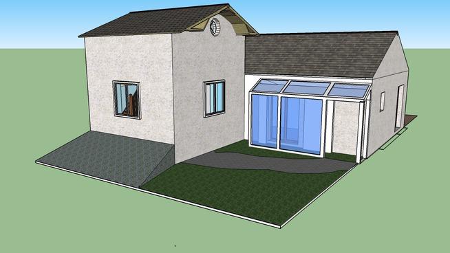 extension  maison  nicolas et nanou