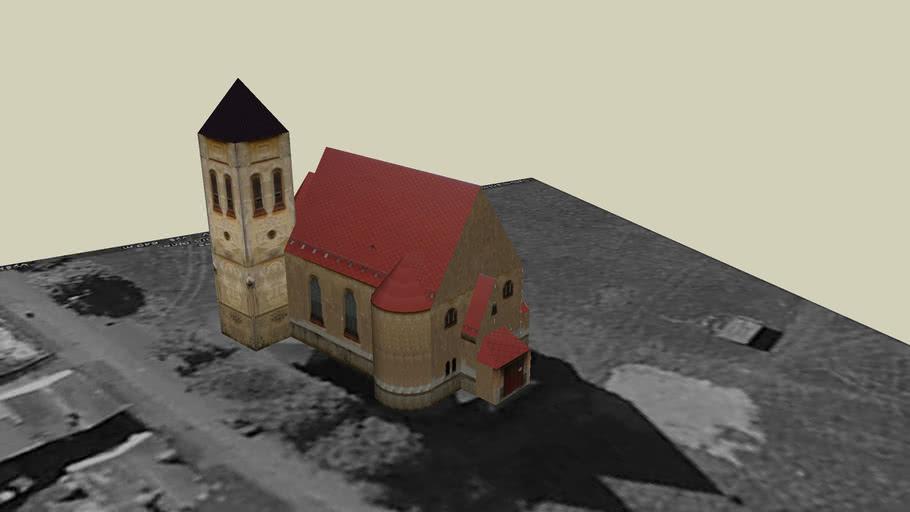 As-Mokriny, Karlovy Vary Region, Czech Rep., Church of St. Charles Borromeo