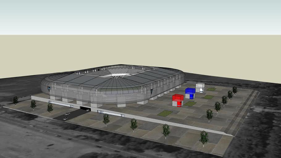 Projekt nowego stadionu Górnika Zabrze (Project of new Gornik Zabrze Stadium) - ver.1.0beta