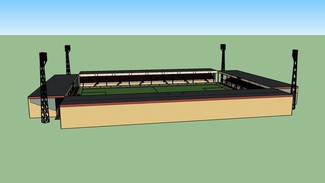 Het Kras Stadion van FC Volendam (fanatix.nl)