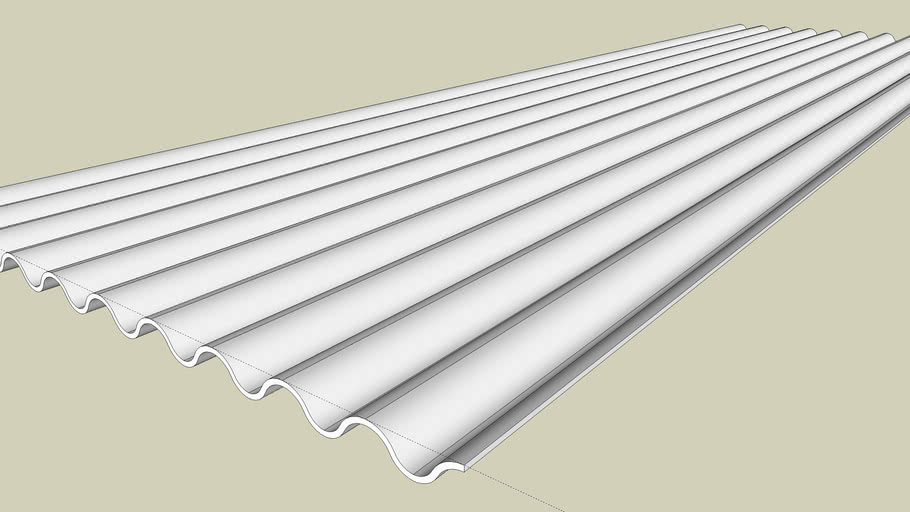 Corrugated Roof 3d Warehouse