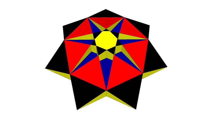 heptagram prism