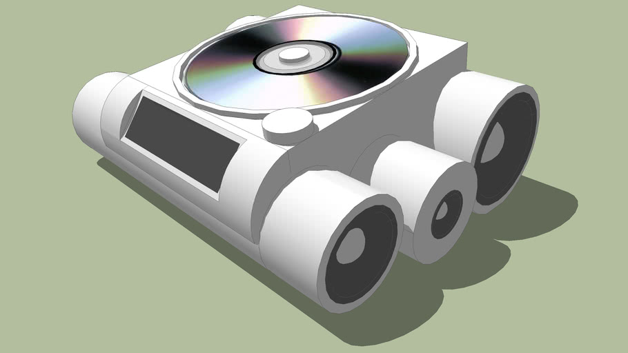 Audio MP3 (CD/DVD) Player