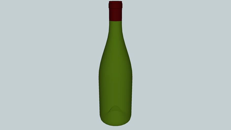 Wine Bottle 750 mL - Option 1