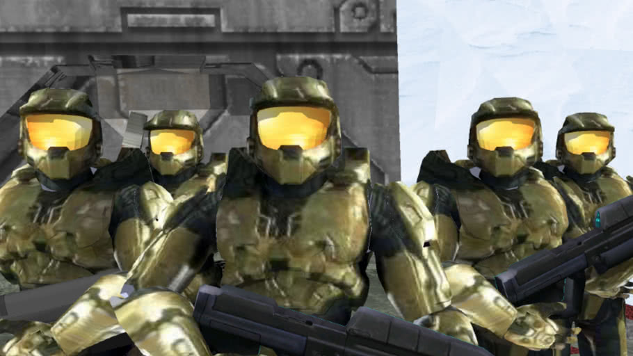 Halo Spartan 117' Dream Animation  MUST SEE