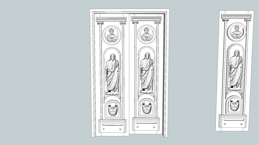 puerta estilo romano nº 2