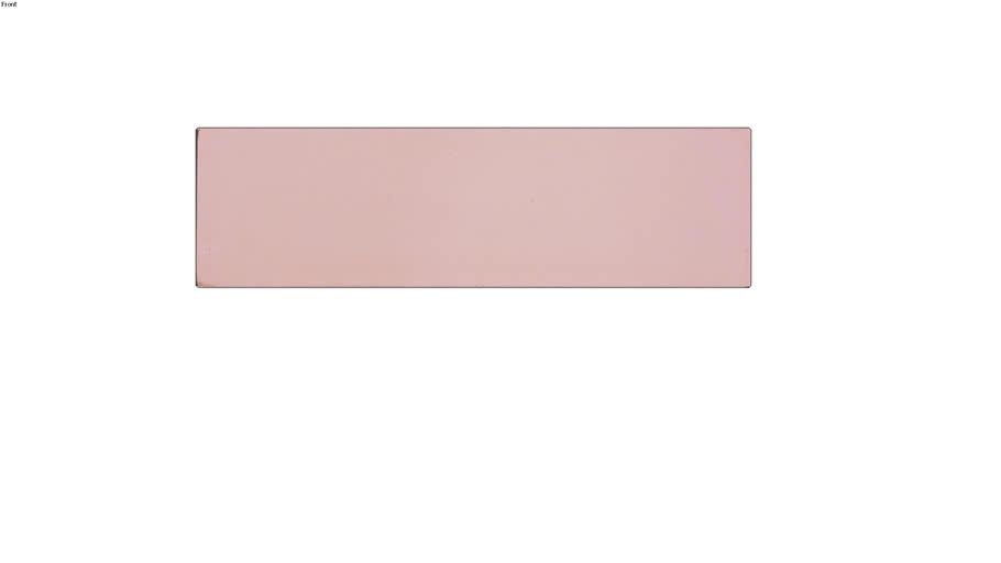 Tijolo Cimentício Rosa