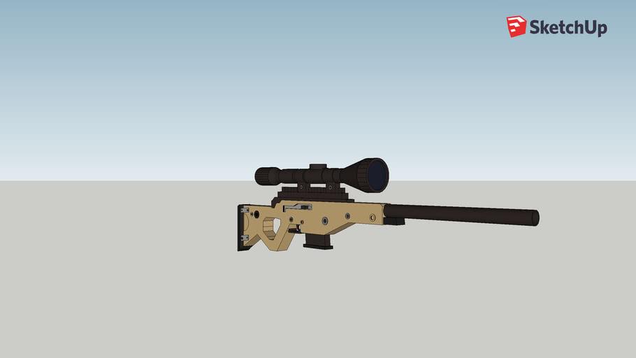 Fortnite Bolt Action Sniper Rifle 3d Warehouse