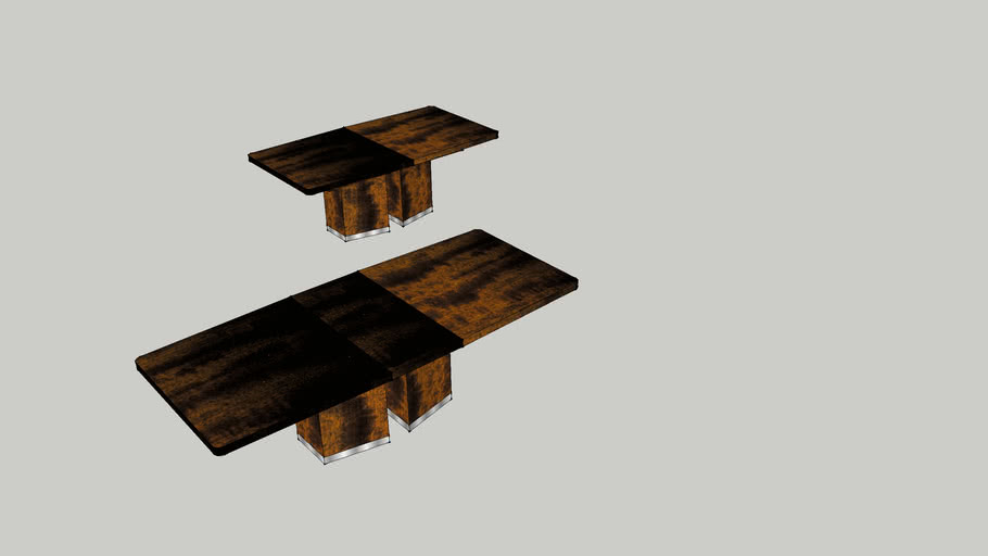 Turino Table by Paul Tarolli for scandesign
