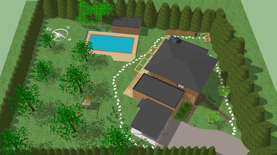 Projet Maison Bois La Fortelle