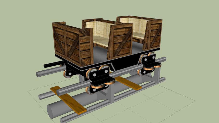 RCT3 : Wagon de mine