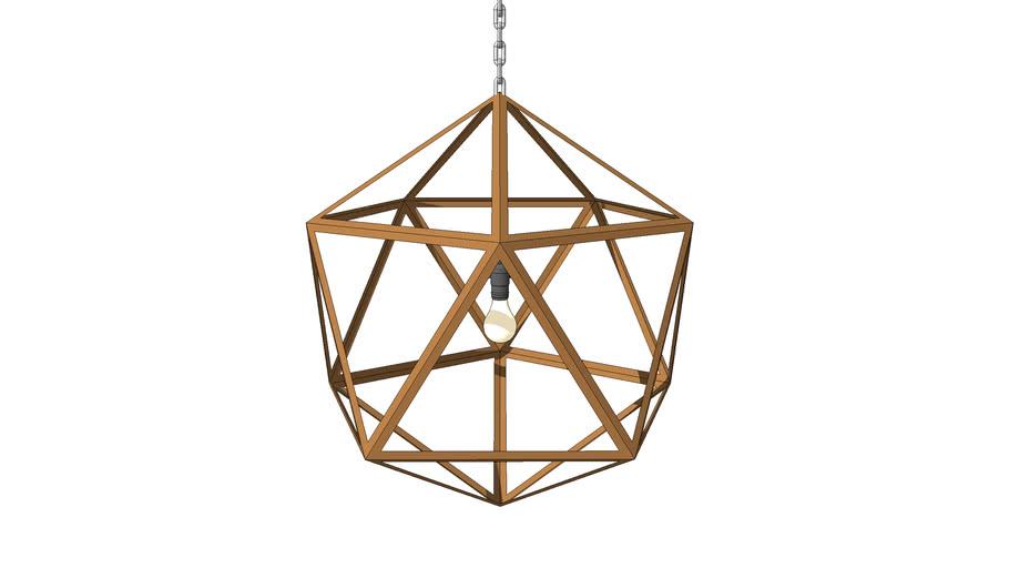 FACETED PENDANT LAMP