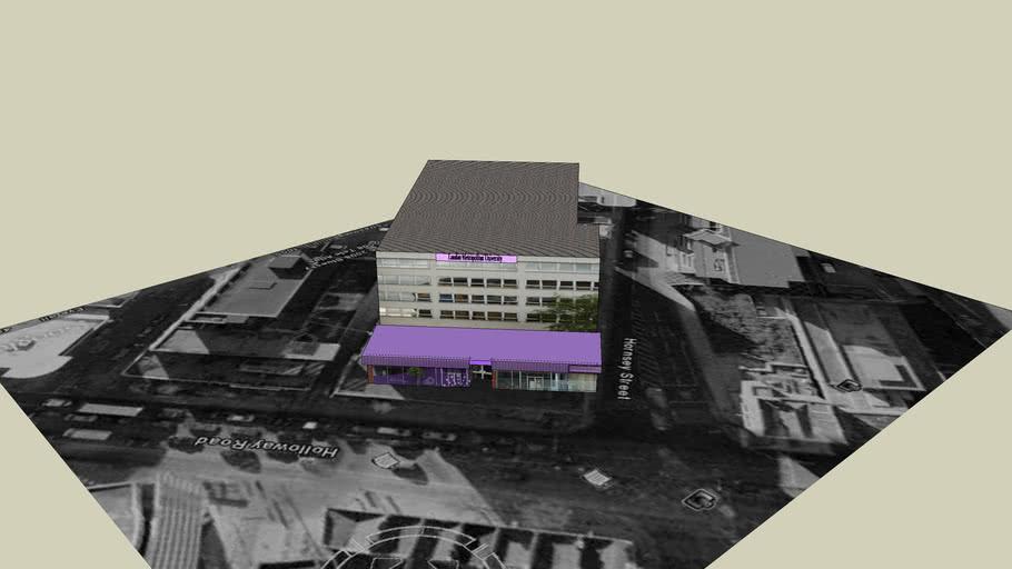 London Metropolitan Univeristy - Stapleton House - North Campus