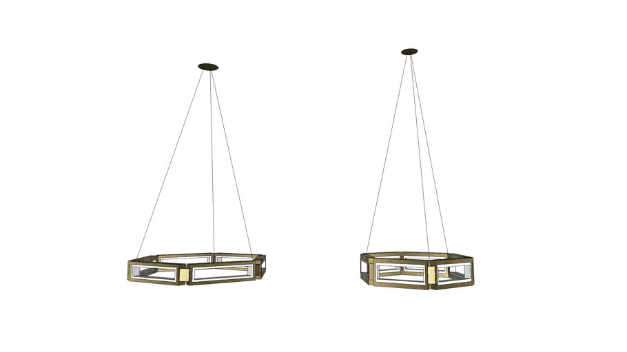 Modern Forms Mies Chandelier