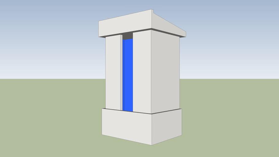 Column lectern