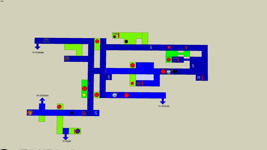 Brinstar ( Zero Mission version ) map.