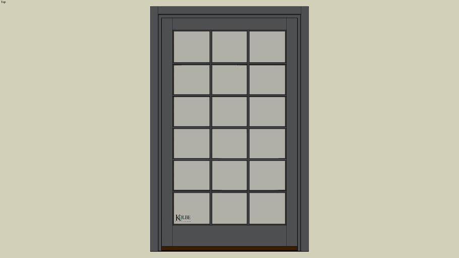 "Kolbe Ultra Garden-Aire Patio Door GAU4368 (F.S. 4'-2 1/2"" x 6'-10 7/16"" R.O. 4'-3"" x 6'-10 15/16"")"