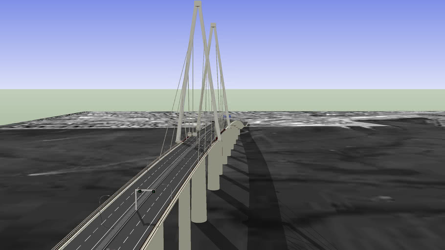 """(versión antigua) Puente de """"La Pepa"""", Cádiz"""
