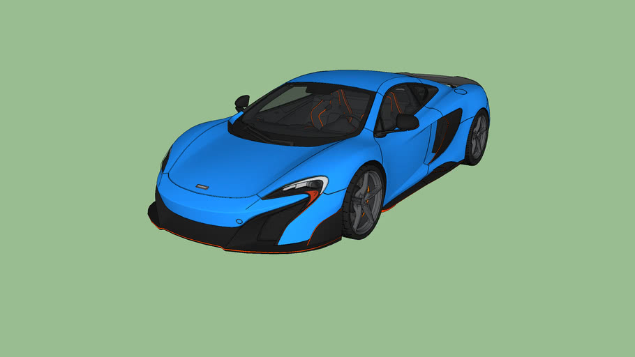 Mclaren 675LT (Blue)
