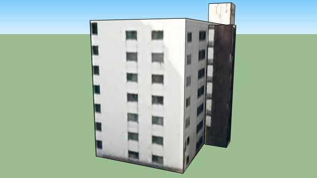 Budova na adrese 〒064-0801