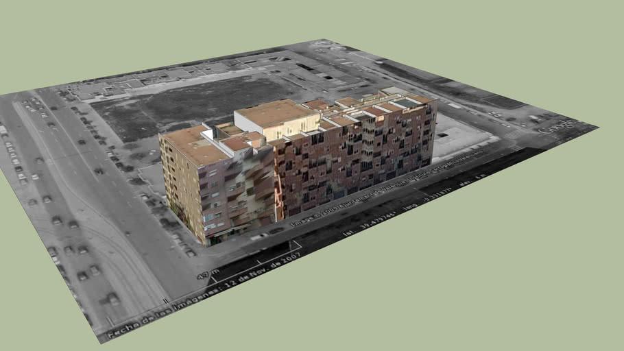 Edificio Viviendas C.San Rafael - Malvarrosa - Valencia