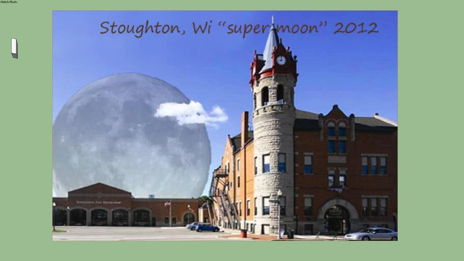 Stoughton Wi supermoon 2012