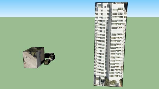 Edificio en Miami Beach, Florida, EEUU