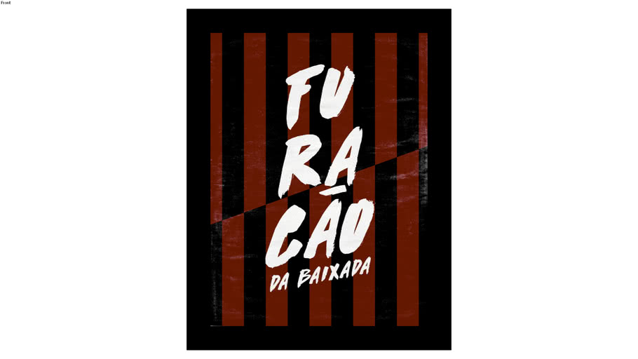 Quadro Atlético Paranaense 30x40cm - Quadro futebol - Furacão da baixada