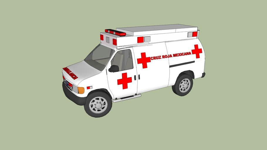 ambulancia de la cruz roja mexicana delegacion de tecate baja california norte