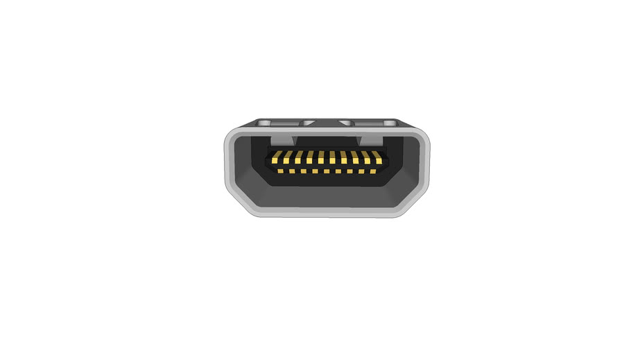 HDMI Type D Receptacle