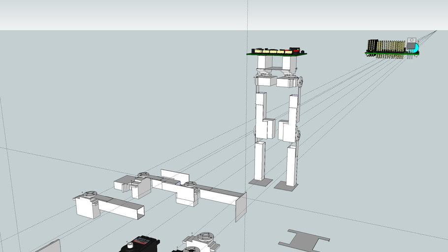 stickbot-biped robot