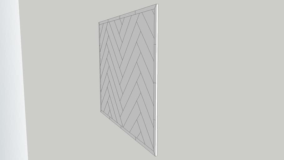Herringbone Accent Tile 3d Warehouse