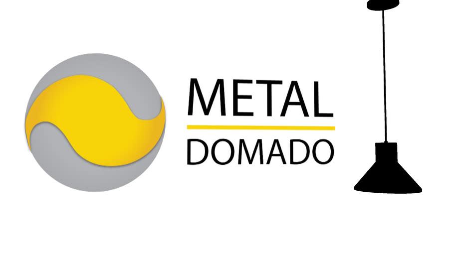 Metal Domado Pendente Leaf  1