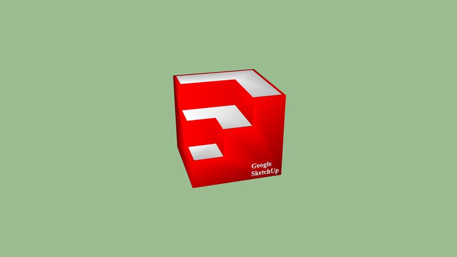 3D Sketchup Icon Model