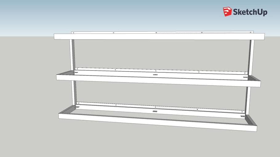 Cottrill backbar shelves